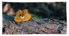 Hen Of The Woods Mushroom Beach Towel