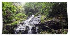 Hen Wallow Falls Great Smoky Mountains National Park Beach Towel