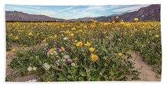 Henderson Canyon Super Bloom Beach Sheet