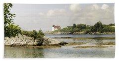 Hendricks Head Lighthouse Beach Sheet