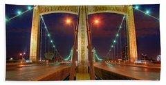 Hennepin Avenue Bridge Minneapolis Beach Sheet