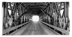 Henniker Covered Bridge Beach Towel