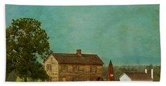 Henry House At Manassas Battlefield Park Beach Sheet