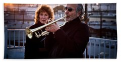 Herb Alpert Beach Towel