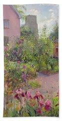 Herb Garden At Noon Beach Towel