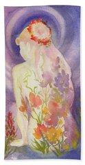 Herbal Goddess  Beach Sheet