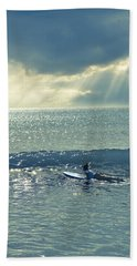 Here Comes The Sun Beach Towel