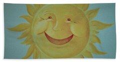 Here Comes The Sun Beach Sheet