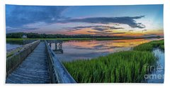 Heritage Shores Nature Preserve Sunrise Beach Towel