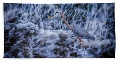 Heron Falls Beach Towel