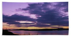 Herring Weir, Sunset Beach Towel