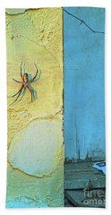 Herzog Street Porch Beach Towel by Joe Jake Pratt
