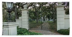 Heyman House Gates Beach Towel by Gregory Daley  PPSA