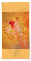 Beach Towel featuring the photograph Hibiscus-1 by David Coblitz