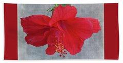Hibiscus Dreams Beach Sheet