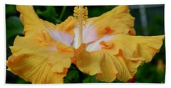 Hibiscus Golden Mist Beach Towel