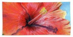 Hibiscus Passion Beach Towel