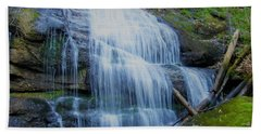Hickey Fork Falls Beach Towel