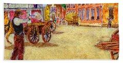 Hickok 1865 Springfield Mo Beach Towel