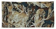 Hidden In Plain Sight Beach Towel by Kathie Chicoine