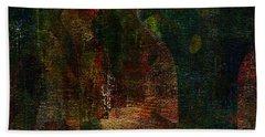 Hidden Beach Towel by The Art Of JudiLynn