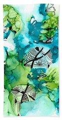 Hidden Treasure Beach Towel by Jan Steinle
