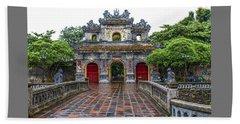 Hien Nhon Gate, Citadel, Hue,vietnam Beach Towel