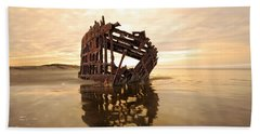 High And Dry, The Peter Iredale Beach Towel