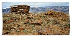 High Desert Cairn Beach Sheet