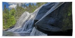 Beach Towel featuring the photograph High Falls One by Steven Richardson