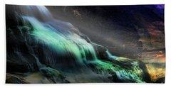 High Falls Sunset Beach Towel
