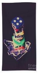 High Roller Luck Beach Towel