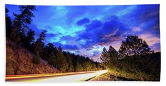 Highway 7 To Heaven Beach Towel by James BO Insogna