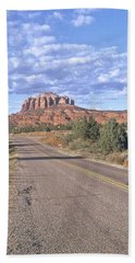 Highway To Sedona Beach Towel