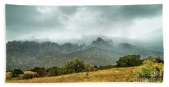 Hike Before The Storm Beach Towel