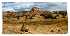 Beach Sheet featuring the photograph Hiking Ghost Ranch New Mexico by Kurt Van Wagner