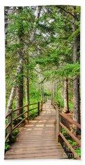 Hiking Trail Beach Towel