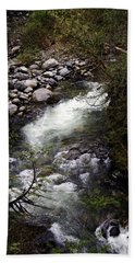 Hiking Wallace Falls#1 Beach Towel