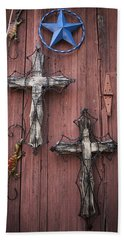 Hill Country Crosses Beach Sheet