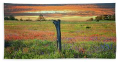 Hill Country Heaven Beach Towel