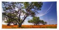 Hill Country Spring Beach Towel