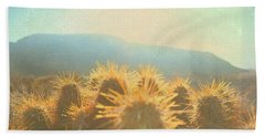 Beach Towel featuring the photograph Hill Top Sunset  by Mark Ross