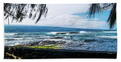 Hilo Bay Dreaming Beach Towel