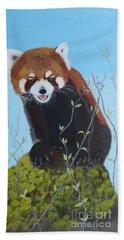 Himalayan Red Panda Beach Towel
