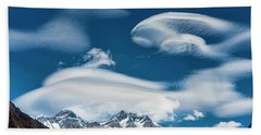 Himalayan Sky Beach Towel
