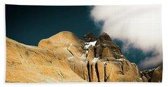 Himalayas Mountain Kailas Kora Tibet Yantra.lv Beach Towel