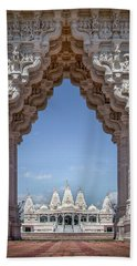Hindu Architecture Beach Sheet