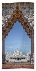 Hindu Architecture Beach Towel