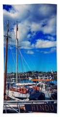 Beach Towel featuring the photograph Hindu by Kendall McKernon