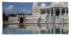 Hindu Temple Beach Towel